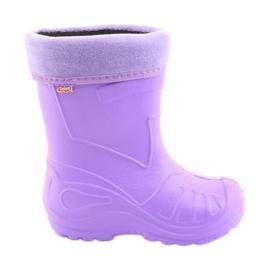 Befado chaussures pour enfants kalosz-fiolet 162X102 pourpre