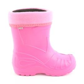 Befado chaussures pour enfants kalosz-róż 162Y101 rose