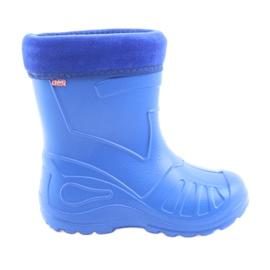 Befado chaussures pour enfants galoskie-chabrowy 162Y106 bleu
