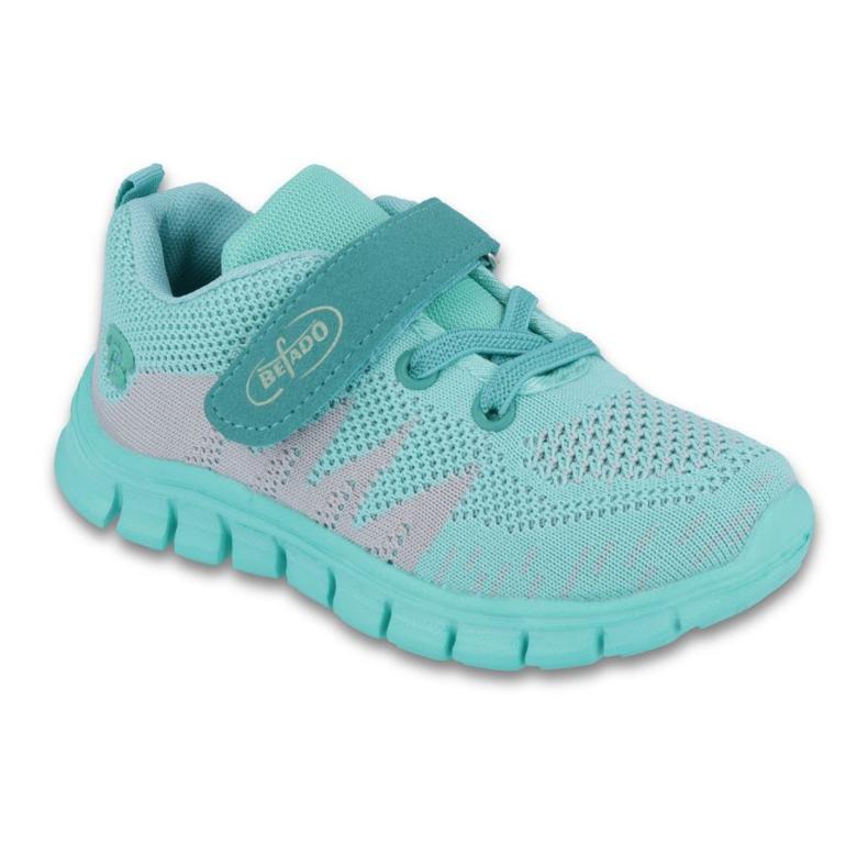 Vert Befado chaussures pour enfants jusqu'à 23 cm 516X026