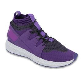 Pourpre Befado chaussures pour enfants jusqu'à 23 cm 516Y031
