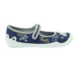 Befado chaussures enfants chaussons ballerines 114y313
