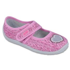 Befado chaussures pour enfants 945X325 rose
