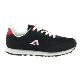 American Club American ADI chaussures de sport pour femmes 1756 noir