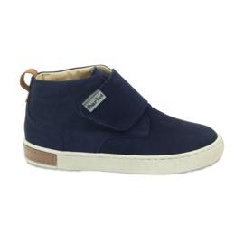 Boots à scratch Bartuś 164 bleu marine