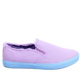 Pourpre Slip Femme Violet NB166 Purple