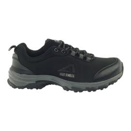 American Club Chaussures de sport américaines softband imperméable femme 1802 noir