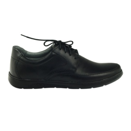 Riko hommes chaussures 849 noir