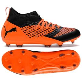 Chaussures de football Puma Future 18.2 Netfit Fg Ag Fizzy M 104321 01