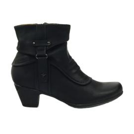 Bottes noires super confortables Aloeloe