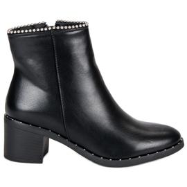 Seastar Bottines noires élégantes