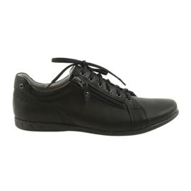 Noir Riko chaussures de sport pour hommes 856