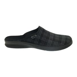 Chaussures Befado pour hommes, chaussons 548m011 noir
