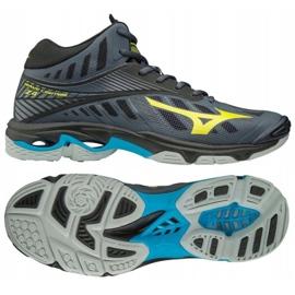 Chaussures de volleyball Mizuno Wave Lighting Z4 Mid M V1GA180547 gris de graphite