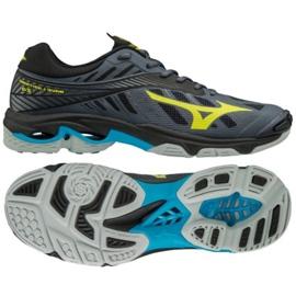 Chaussures de volleyball Mizuno Wave Lighting Z4 M V1GA180047 gris de graphite
