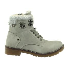 Gris, chaussures collées DK2025