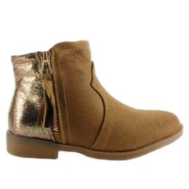 Brun Bottes bottes bottes K1647301 Camel