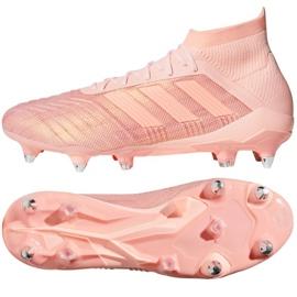 Chaussures de football Adidas Predator 18.1 Sg. rose