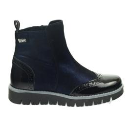 Ren But Bottes chaudes Ren Boot 4379 bleu marine