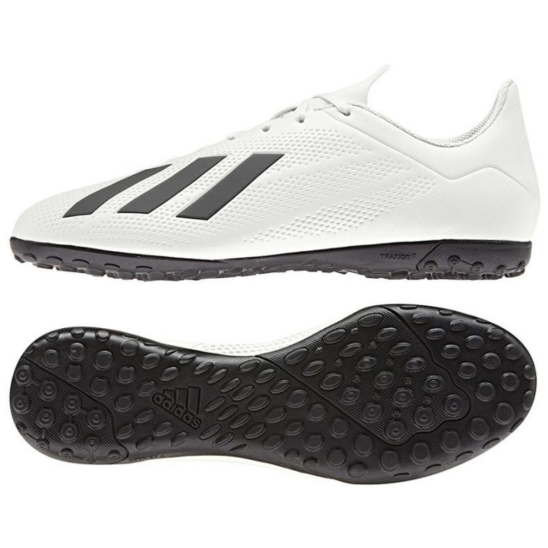 Chaussures de football Adidas X Tango 18.4 Tf M blanc