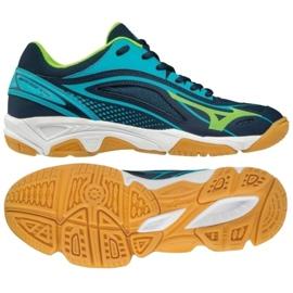 Bleu Chaussures de handball Mizuno Mirage Star 2 Jr. X1GC170536