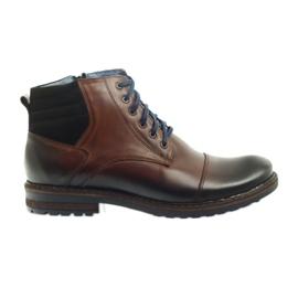 Brun Chaussures homme noires Nikopol 683
