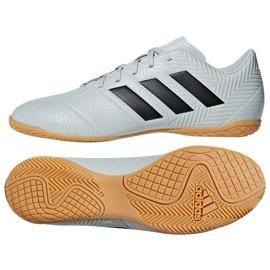 Chaussures de football Adidas Nemeziz Tango 18.4 blanc