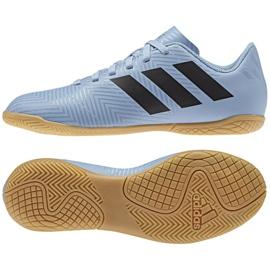 Adidas Nemeziz Messi Chaussures Tango In Jr DB2397 bleu bleu