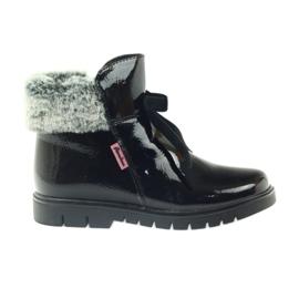 American Club noir Bottes américaines bottes bottes d'hiver 18015