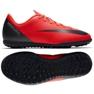 Nike Mercurial Vaporx 12 chaussures de football rouge