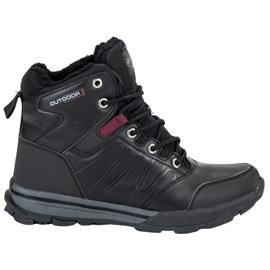 Noir Chaussures de trekking pour femmes par MCKEYLOR