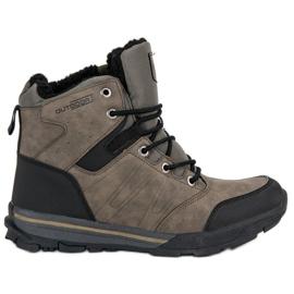 Brun Chaussures de trekking pour femmes par MCKEYLOR
