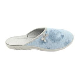 Bleu Befado chaussures colorées pour femmes 235D163