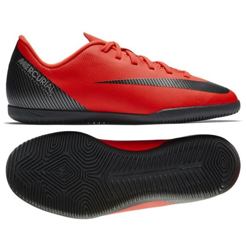 Chaussures d'intérieur Nike Mercurial Vaporx 12 rouge