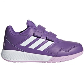 Adidas AltaRun Cf Jr BB9327 chaussures pourpre
