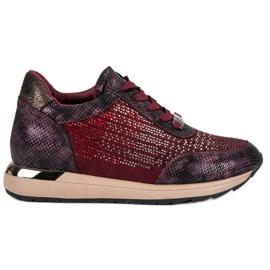 Kylie Chaussures de sport à la mode rouge
