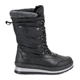Mckeylor Bottes de neige noires à la mode
