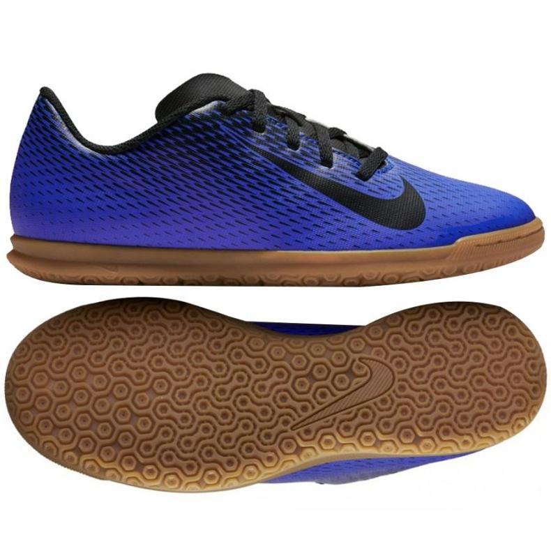 Nike Bravatax Ii Ic Jr 844438 400 chaussures bleu