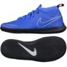 Chaussures d'intérieur Nike Phantom Vsn Club Df bleu