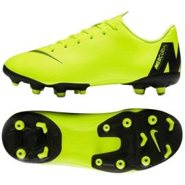 Nike Mercurial Vapor 12 chaussures de football jaune
