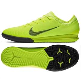 Chaussures d'intérieur Nike Mercurial Vapor 12 Pro jaune