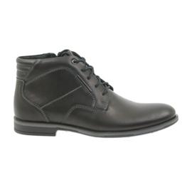 Noir Riko, chaussures pour hommes, bottines Jodhpur 861