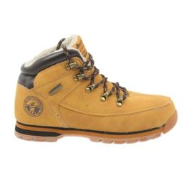 American Club jaune Bottes américaines bottes d'hiver 152619