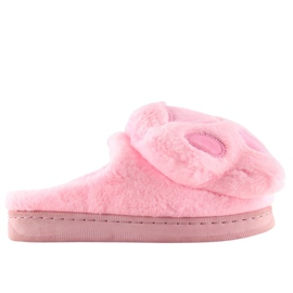 Chaussons Femme Rose DD93 Rose