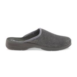 Inblu Pantoufles hommes pantoufles grises