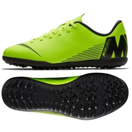 Chaussures de football Nike Mercurial Vapor X 12 Club Tf Jr AH7355-701
