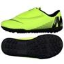 Chaussures de football Nike Mercurial Vapor 12 Club Tf Jr AH7357-701 vert vert