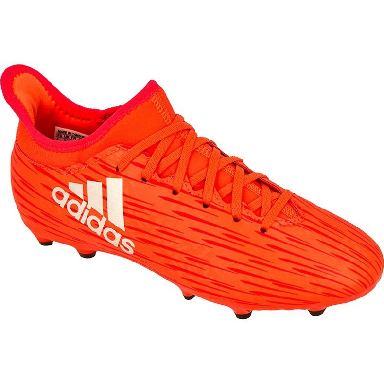 Chaussures de football adidas X 16.3 Fg Jr S79489 rouge rouge