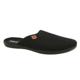 Noir Pantoufles Adanex 21115 pantoufles