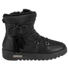 Noir Bottes neige MCKEYLOR